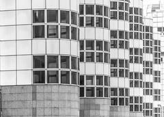 DSC_5511 (deborahb0cch1) Tags: architecture building windows window curves curve geometric lines symmetry monochrome blackandwhite noiretblanc