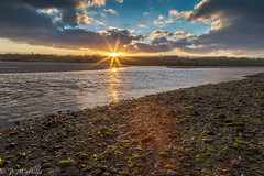 Alnmouth Sunset (Zorro Photography) Tags: lowtide water northumberland alnmouth sunset