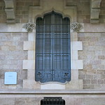 A Moorish influenced window frame, Barcelona thumbnail
