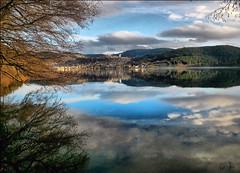 Gerardmer (denismartin) Tags: gerardmer vosges lake flood reflection reflet vogesen vosgesmountain lorraine winter weather cloud nature landscape sky denismartin france
