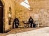 Israel soldiers. (Monica@Boston) Tags: windows focus afternoon shadow moment soldiers oldtown people jerusalem israel