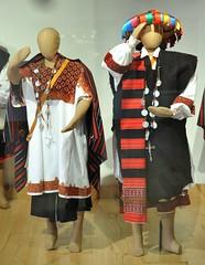 Tenejapa Maya Textiles Chiapas Oaxaca (Teyacapan) Tags: maya textiles tenejapa chiapas mexico trajes clothing museo tseltal man woman
