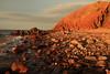 Rocky Shore (Darren Schiller) Tags: hallettcove adelaide southaustralia australia beach boulders coast cliffs evening sea ocean waves rocks water sunset landscape shore