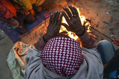 The mighty winter returns. (A. adnan) Tags: winter cold weather fire hands poverty warmth warm keepingwarm temperaturedrop bangladesh chittagong slum