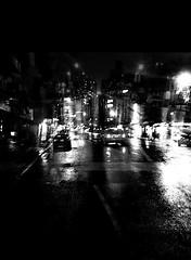 nothin but rainy days & rainy nights. (Manhattan Girl) Tags: shellykayphotography androidshot doubleexposure nightshots nyc manhattan rainynight bwphotography citylife