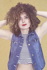 (Rafi Moreno) Tags: rafi canon autorretrato selfportrait portrait retrato vintage retro hipster pale yellow denin