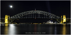 Sydney Harbour, Australia (CvK Photography) Tags: australia autumn canon city cityscape color cvk fall holiday newsouthwales night reflection sydney sydneyharbourbridge sydneyoperahouse mcmahonspoint australië au sydneyharbour