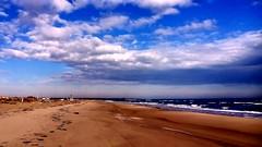 """___ cielo, spiaggia, mare ___ """"explore"""" (erman_53fotoclik) Tags: erman53fotoclik mediacom s501 cielo aria spiaggia sabbia terra arenile costa mare acqua nuvole orizzonte panorama adriatico porto caleri rosolina"""