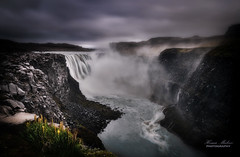 Force of nature (dochema2000) Tags: ifttt 500px waterfall iceland cliff beautiful glacier summer clouds
