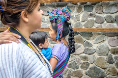 nearness (Pejasar) Tags: 2015 guatemala college mission panajachel lake atitlán candid street closeness nearness woman child hand