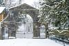 Estate Gate (burgootim) Tags: snow february gate sony naas kildare ireland