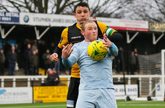 Cray Wanderers 1 Lewes 2 20 01 2018-266.jpg (jamesboyes) Tags: lewes cray bromley football bostik isthmian fa soccer action goal game celebrate celebration sport athlete footballer canon dslr