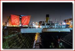 SS Nomadic (Deek Wilson) Tags: ssnomadic titanic titanicbuilding titanicquarter whitestar line belfast northernireland nightshoot afterdark night