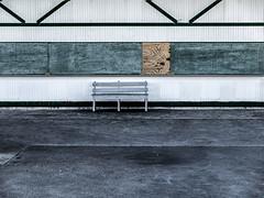 Bench--Nantasket Beach, Offseason (PAJ880) Tags: pavilion food stand offseason nantasket beach hull ma bench