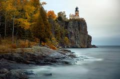 Listening To Silence (karenhunnicutt) Tags: splitrocklighthouse minnesota stateparks lakesuperior autumn karenhunnicuttphotography