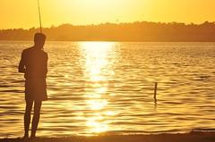 bfds procê (Ruby Ferreira ®) Tags: araruamarj sunset regiãodoslagosrj lagoa lagoon ripples silhuetas silhouettes pescador fisherman