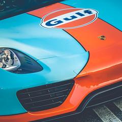 Gulf Porsche 918 (crashmattb) Tags: caffeineandoctane supercar hypercar car carphotography automobile automotivephotography carshow carmeetup speedhunters exotic fast porsche canon70d 35mm september 2017 918 hybrid racing gulflivery atl atlanta canonef100mmf28lmacroisusm