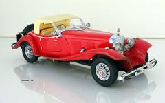 1935 Mercedes-Benz 500K Roadster (JCarnutz) Tags: 124scale diecast franklinmint 1935 mercedesbenz 500k