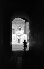 Backlight - Reggio Emilia - summer 2011 (cava961) Tags: reggioemilia backlight analogue analogico monocromo monochrome bianconero bw