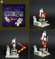 Colony ship launchpad (Loysnuva) Tags: lego ideas moments space contest moc colony ship launchpad mecanism spaceship loysnuva bionifigs