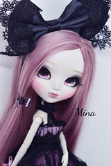 Mina (solarsenshi) Tags: pullip byul dal jun planning groove custom doll bjd ooak mocha gray yeolume