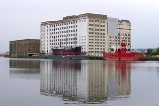 Spillers Millenium Mills am Royal Victoria Dock