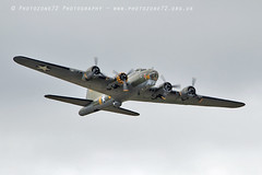 0317 B17 Sally B (photozone72) Tags: riat airshows aircraft airshow aviation props canon canon7dmk2 canon100400mmf4556l 7dmk2 sallyb b17 b17bomber usaf warbirds wwii