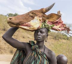 Mursi. Omo valley. Ethiopia (courregesg) Tags: ethiopia eastafrica tribal ethnic