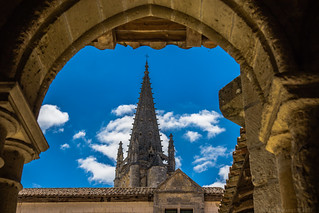 Bell tower of the Monolith Church, Saint-Émilion