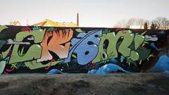 Crem / Dok Noord - 17 feb 2018 (Ferdinand 'Ferre' Feys) Tags: gent ghent gand belgium belgique belgië streetart artdelarue graffitiart graffiti graff urbanart urbanarte arteurbano ferdinandfeys bestof2018be