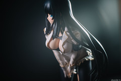 Ikaruga I (delayedflight) Tags: senran kagura ikaruga figurine jfigure bfigure japanese ninja sword boobs squishy girl anime school council student president uniform white black bokehlicious bokeh vsco vscofilm d800 lights flash sb700 sb910 speedlight nikonnikkor50mmf18gafs extensiontube 50mm
