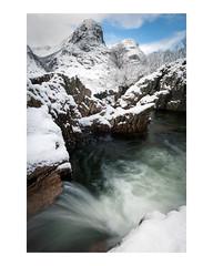 Two out of three (chrismarr82) Tags: water nikon snow scotland glencoe