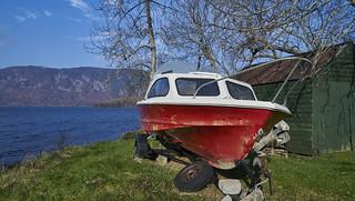 Nessie seach boat