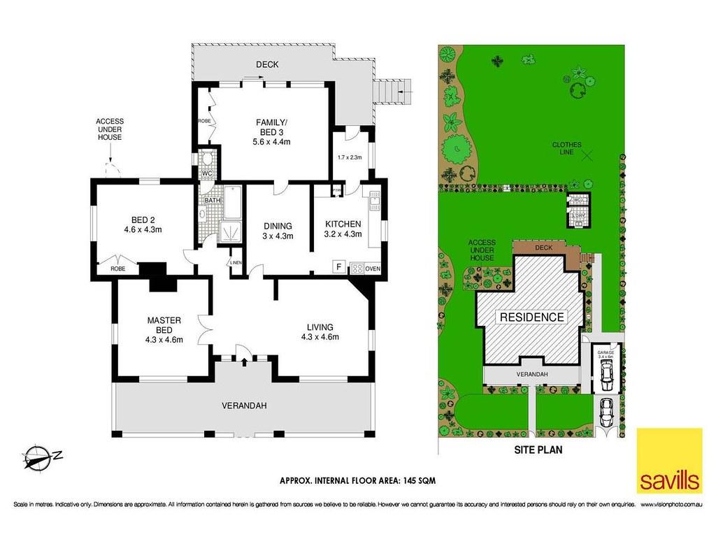46 Rosedale Road floorplan