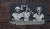 Jamestown New York - Lucille Ball–Desi Arnaz Center Museum - Mural on Building - I love Lucy  TV Series (Onasill ~ Bill Badzo) Tags: jamestown new york state chautauquacounty westernnewyork ilovelucy lucille ball desi arnaz cuba cuban band leader comedy series famous mural scene onasill movestar job switching show 1952 ricky fred ethel housework jess museum center love laughter old photo vintage scan