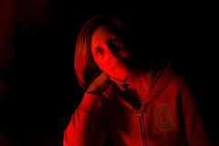 (Kevin Dingfelder) Tags: fuji fujifilm x100t lake state park evening night fire bonfire portrait portraiture low light lowlight woman lady ohio burr oak
