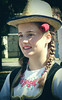 Red rose (max tuguese) Tags: portrait people woman girl carnival sony maxtuguese face red rose smile costume hat