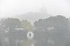 Westlake 西湖 (MelindaChan ^..^) Tags: westlake 西湖 hangzhou china 杭州 lake fog water chanmelmel mel melinda sudi melindachan tree 苏堤 reflection causeway