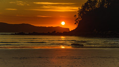 Sunrise Seascape (Merrillie) Tags: daybreak sunrise sun nature dawn uminabeach centralcoast morning sea landscape newsouthwales rocks earlymorning nsw clouds beach ocean water uminapoint waterscape coastal cloudy sky seascape australia coast outdoors waves