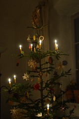 Our tree of 2017 (monika & manfred) Tags: mm stlambrecht tree 2017tree xmas christmas austria decorations candles beeswax scent