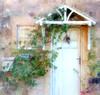 Wisteria Cottage (sbox) Tags: cottage painterly stone yorkshire england wisteria gardens door doorway plants sbox declanod magicunicornverybest