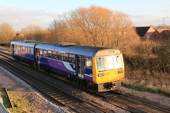 Northern 142025 2nd February 2018 Thorne South (asdofdsa) Tags: thornesouth railway staition southyorkshire southend transport trains locomotive loco dm dmu northernrail
