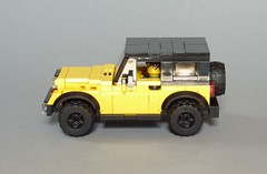 Jeep Wrangler Rubicon (JK) (MOCs & Stuff) Tags: lego city town jeep wrangler rubicon jk 4x4 truck mopar