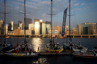 Crew in Volvo Ocean Race HK