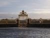 Sonnenschimmer (Jasardpu) Tags: tor gold versailles winter spiegelung zaun schloss paris architektur
