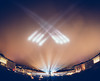 Lux Helsinki 2018 (miemo) Tags: samyang75mmf35 clouds crowd em5mkii europe finland fisheye helsinki kruununhaka lights luxhelsinki night olympus omd people senatesquare sky spotlights wideangle winter uusimaa fi
