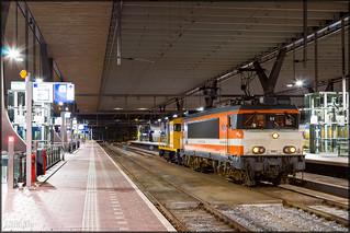 Railexperts 9901 + BSH 2454, Rotterdam Centraal