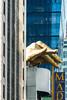 Golden Hand, Madame Tussaud's (MikePScott) Tags: architecturalfeatures banner broadway buildings builtenvironment camera featureslandmarks flag logo madametussauds monument newyork newyorkcity nikon28300mmf3556 nikond800 sculpture sign sky skyscraper timessquare usa