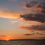 Sunset, Waskesiu Lake, Prince Albert National Park thumbnail