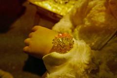 A light-up bracelet that changes color (Monceau) Tags: nighttime parade kreweofeve mardigras bracelet wrist